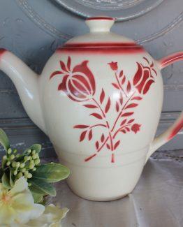 koffiepot rood (1)